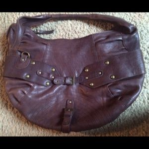 BCBGirls Brown Leather Purse
